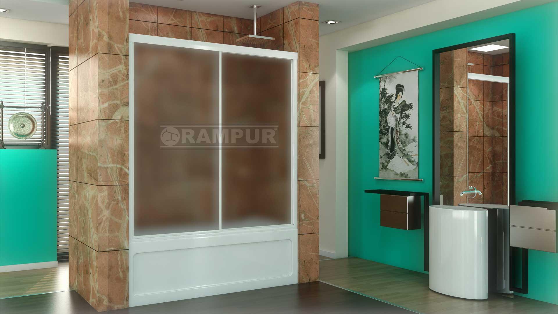 Mamparas Para Baño Rampur:Mampara Para Baño Con 2 Hojas – Acrílico – Aconcagua Premium