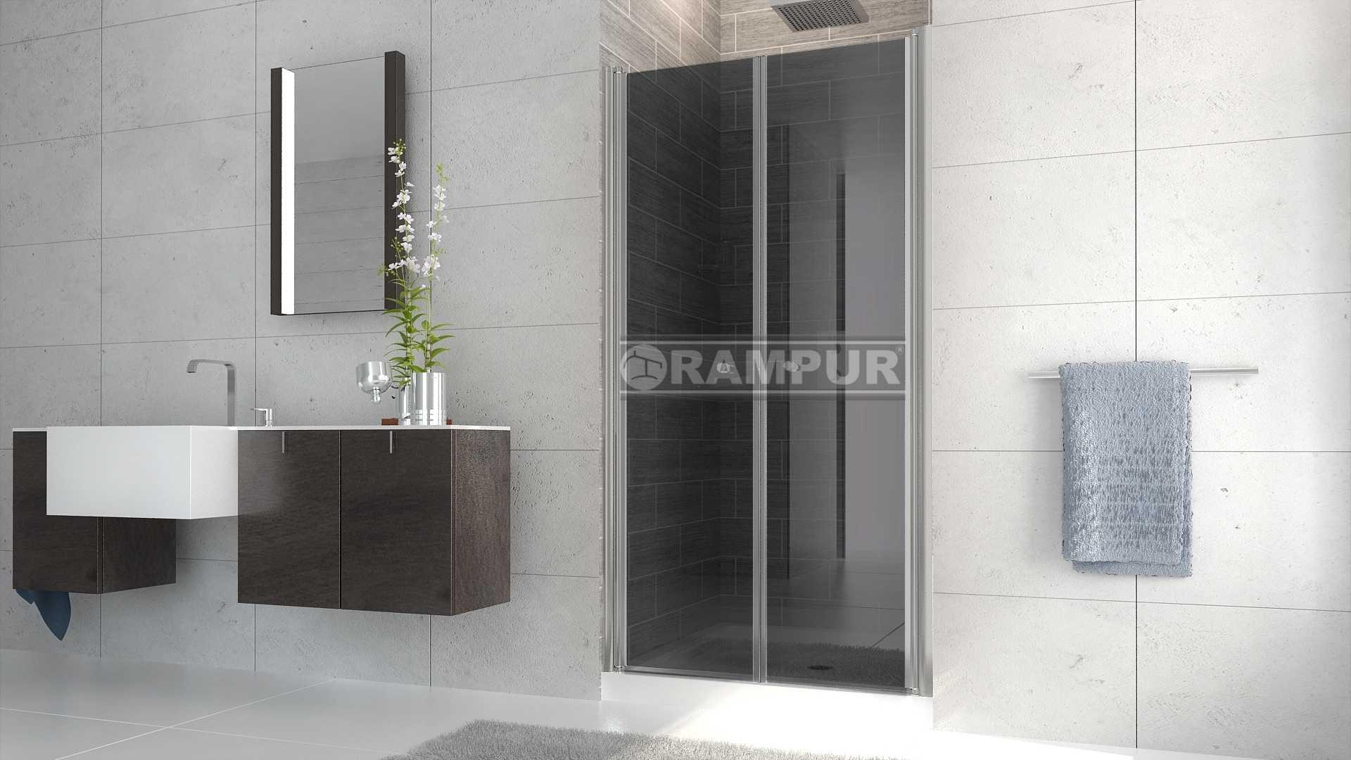 Rampur mamparas para duchas de vidrio atuel premium - Mamparas de vidrio para duchas ...