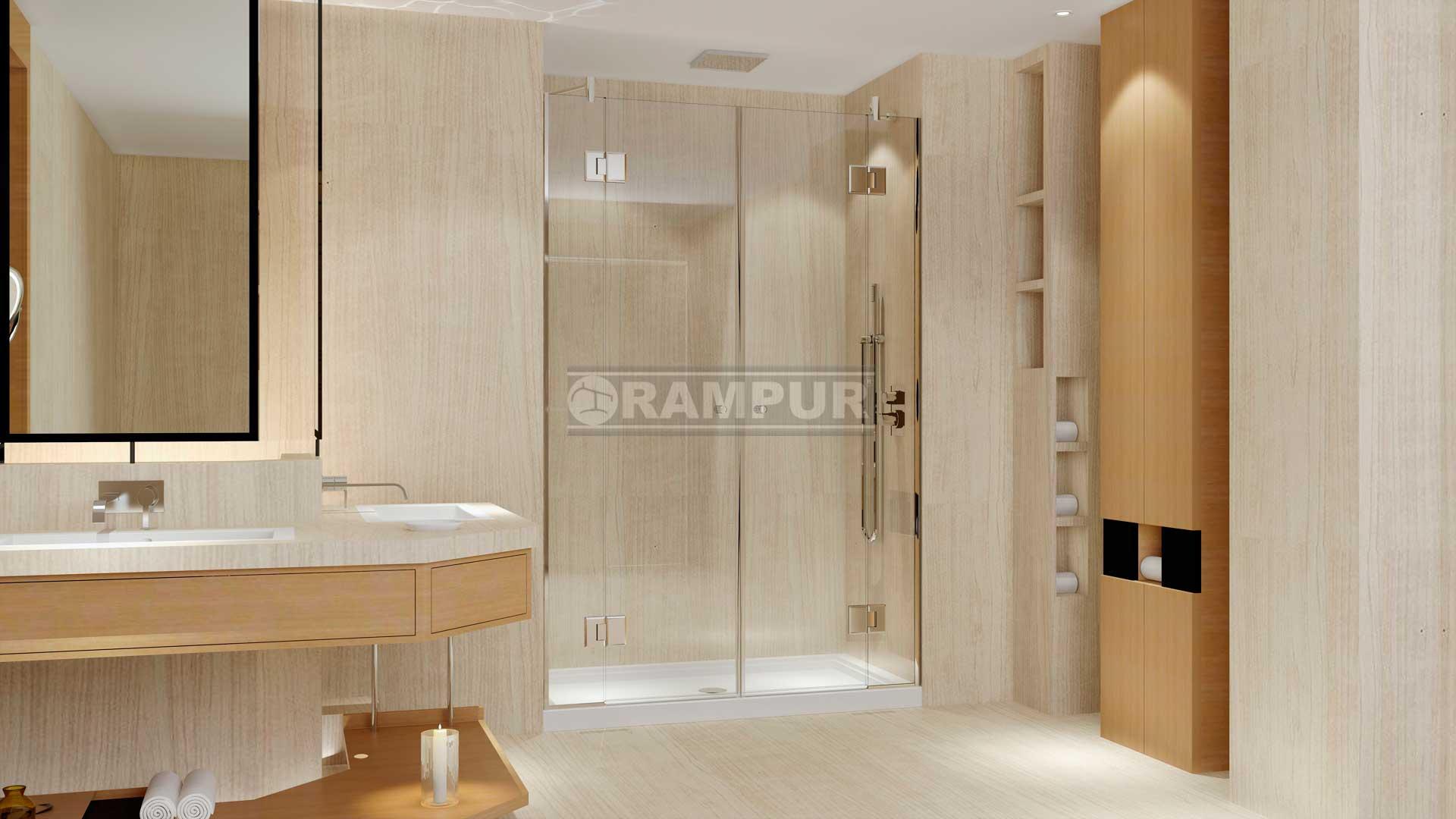 Duchas con puertas de vidrio amazing las puertas de - Puertas para duchas ...