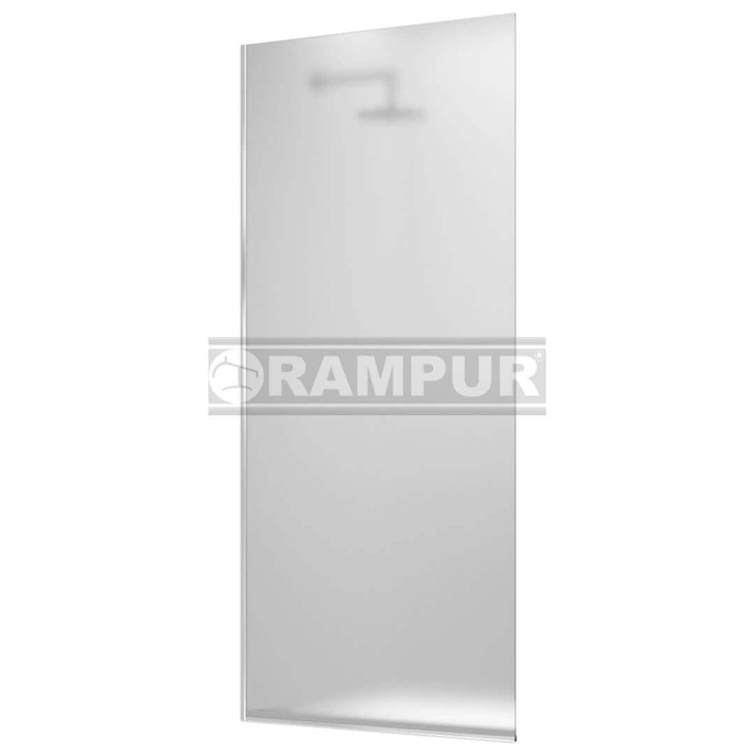 Rampur shopping mampara fija para ducha sat n plata - Mampara fija ducha ...