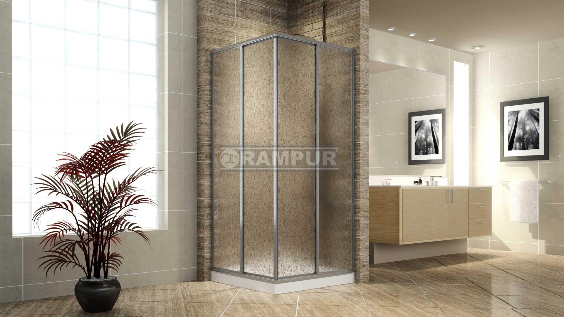 Rampur box de ducha acr lico fitz roy premium Receptaculo ducha a medida