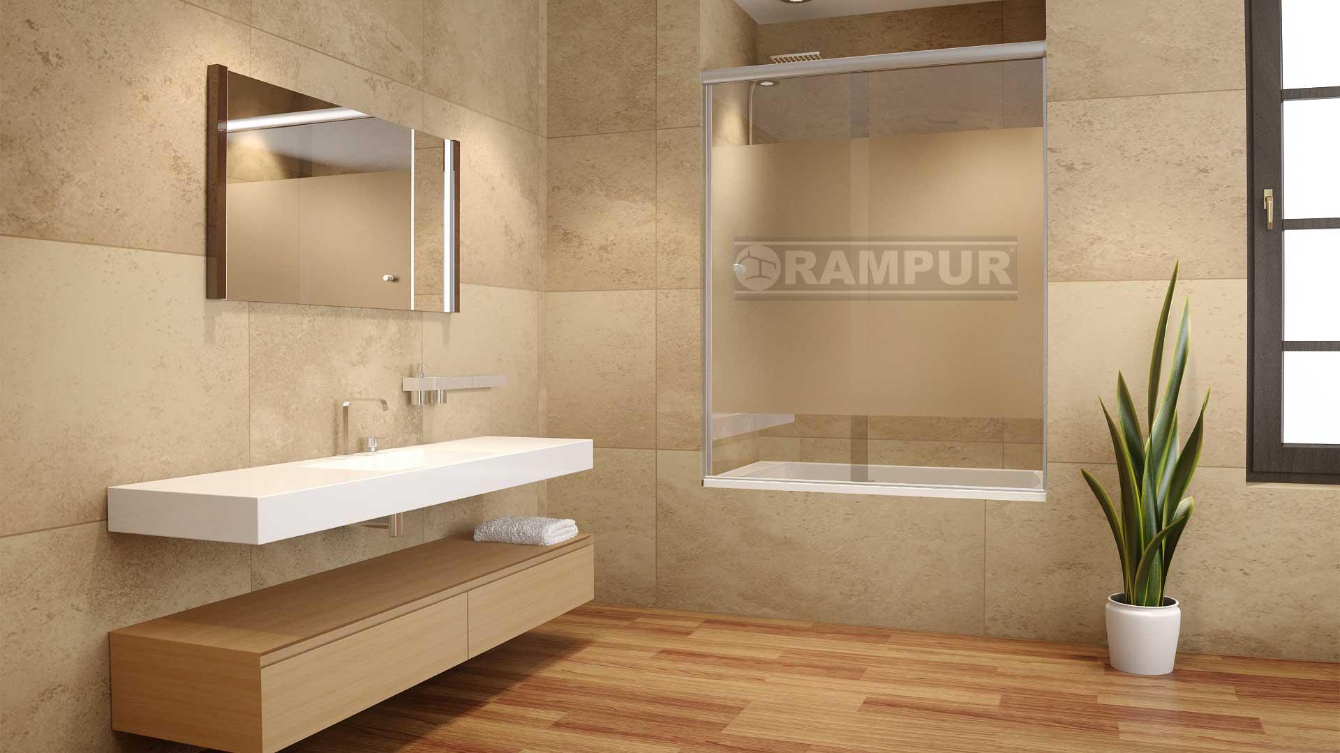 Rampur mamparas de ba os de vidrio lacar 2 h premium Ver mamparas para banos